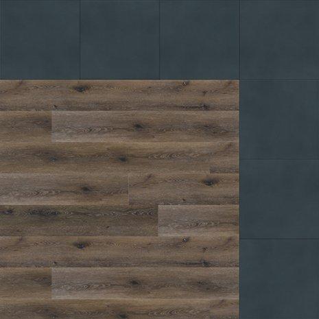 wineo Designboden Verlegekombinationen Muster Holzoptik Eiche mit schwarz