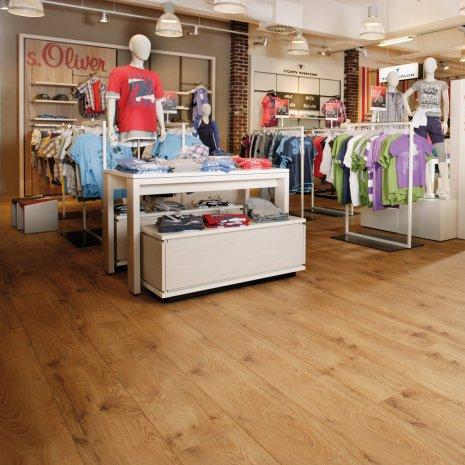 wineo Laminatboden  Holzoptik braun im Einzelhandel