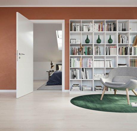 wineo 500 Laminatboden Wohnzimmer Lesezimmer Balanced Oak White LA179XXLV4
