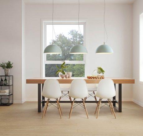 wineo 500 Laminatboden Esszimmer moderne Einrichtung LA171MV4 Flowered Oak Brown